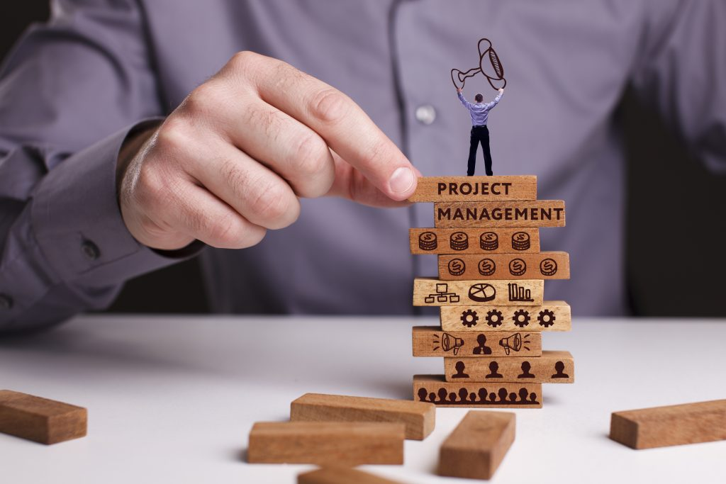 shutterstock 696025972 Projektmanagement